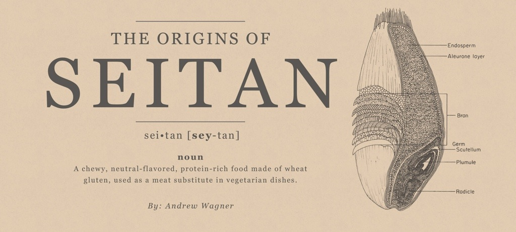 The origin of seitan - DarkRye